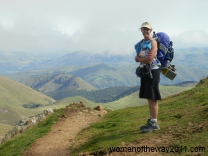 Jane in Pyrenees