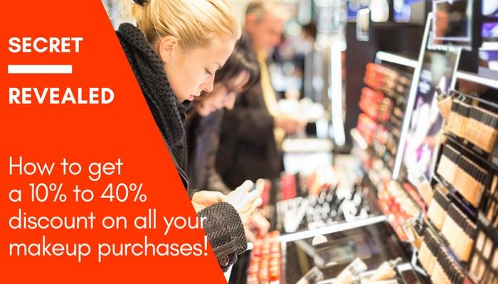 How to Get Makeup Discounts!