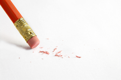 Erasing Annoying Little Lines