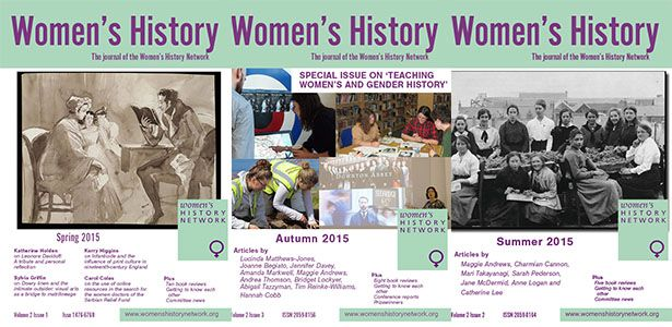 Women's History covers