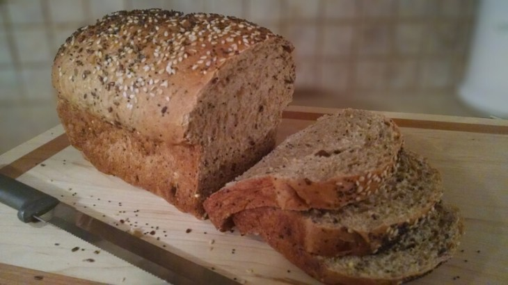 Honey Flax seed Multigrain bread
