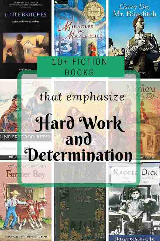 10 Fiction Books that Emphasize Hard Work and Determination