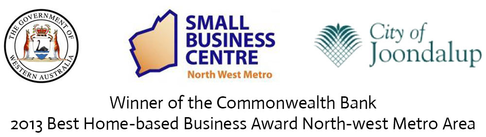 2013 Best Home-based Business Award North-west Metro Area