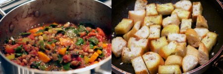 Traveler's Stew: Process
