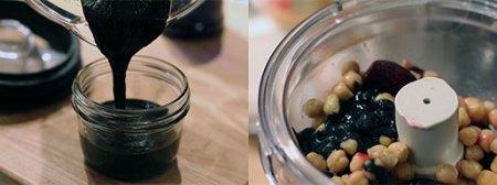 Beet Hummus: Processing