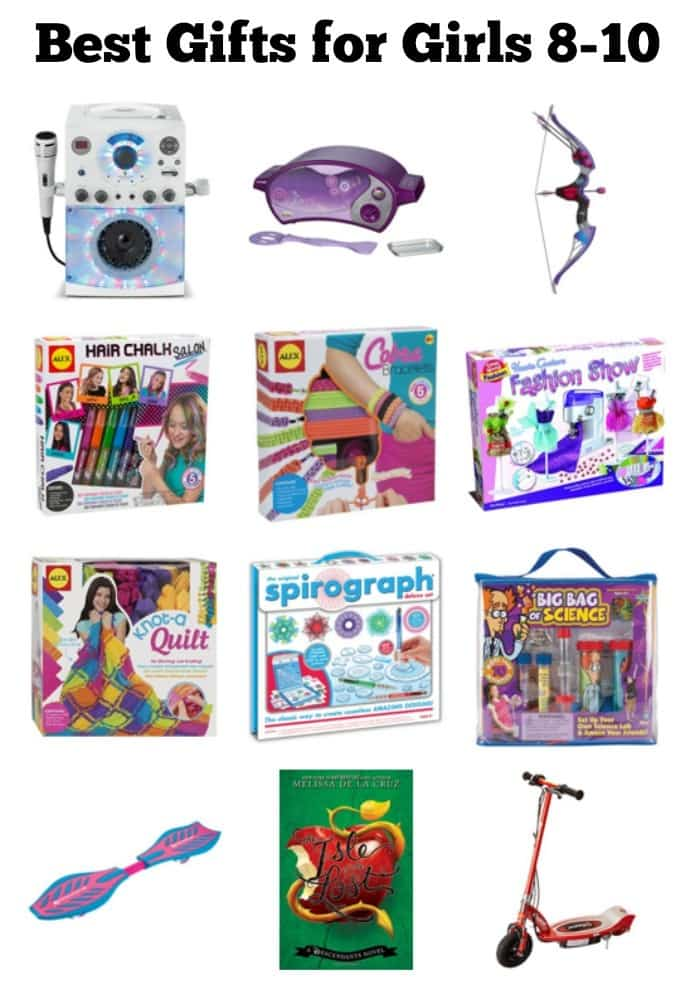 Toys For 8 10 : Best gifts for year old girls