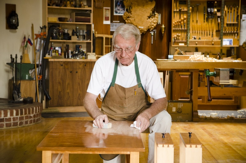 Frank Klausz Woodworking Workshop Tour - by WoodAndShop @ LumberJocks.com ~ woodworking community