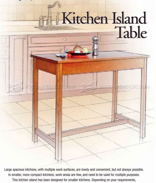 Medium Of Island Tables For Kitchen