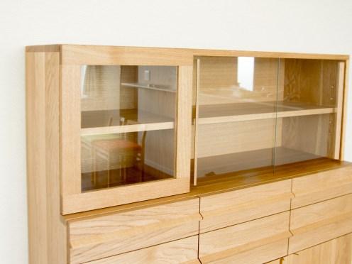 TANA CUP BOARD カップボード 食器棚 ナラ材 収納 キッチン
