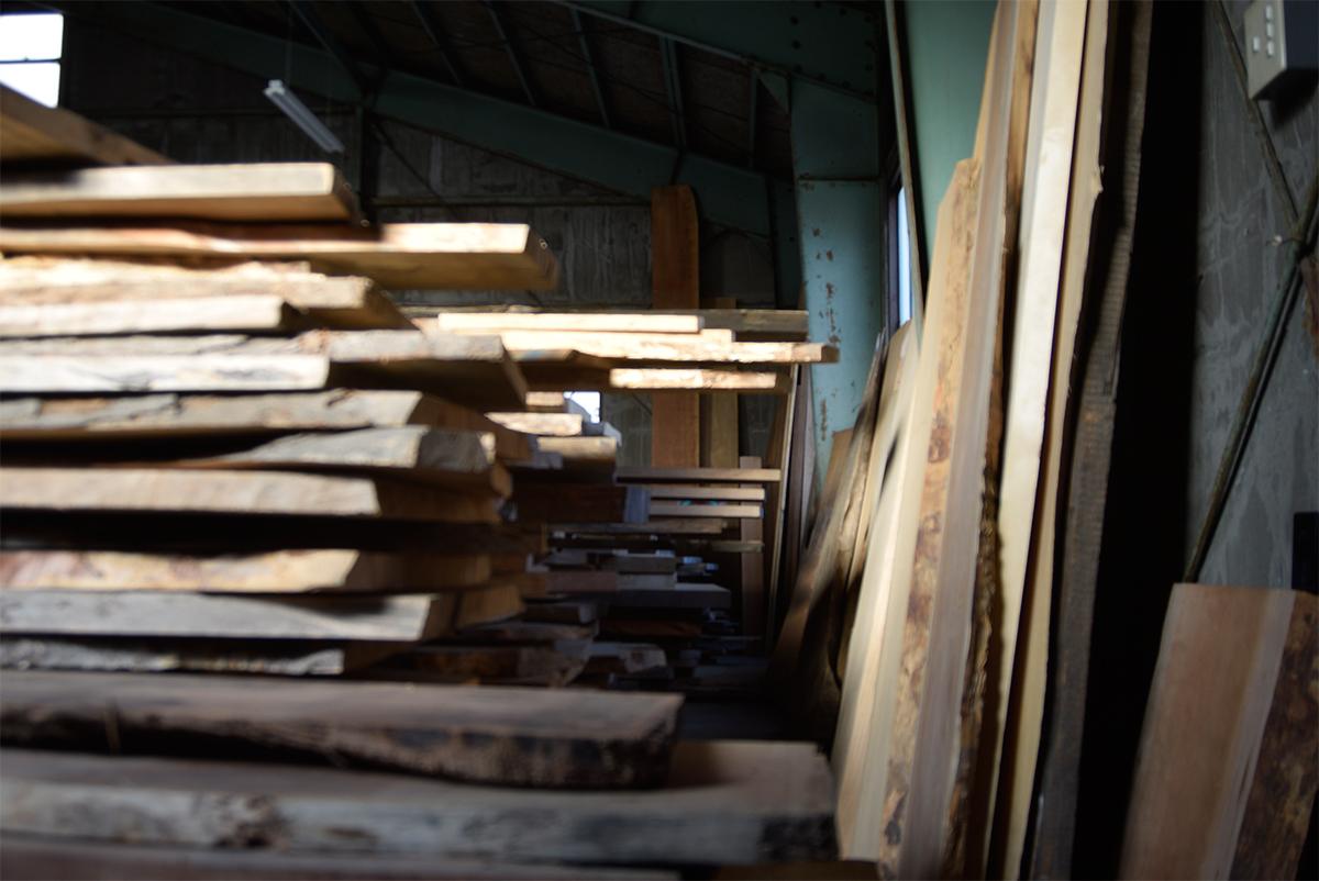 一枚板 天板 材料