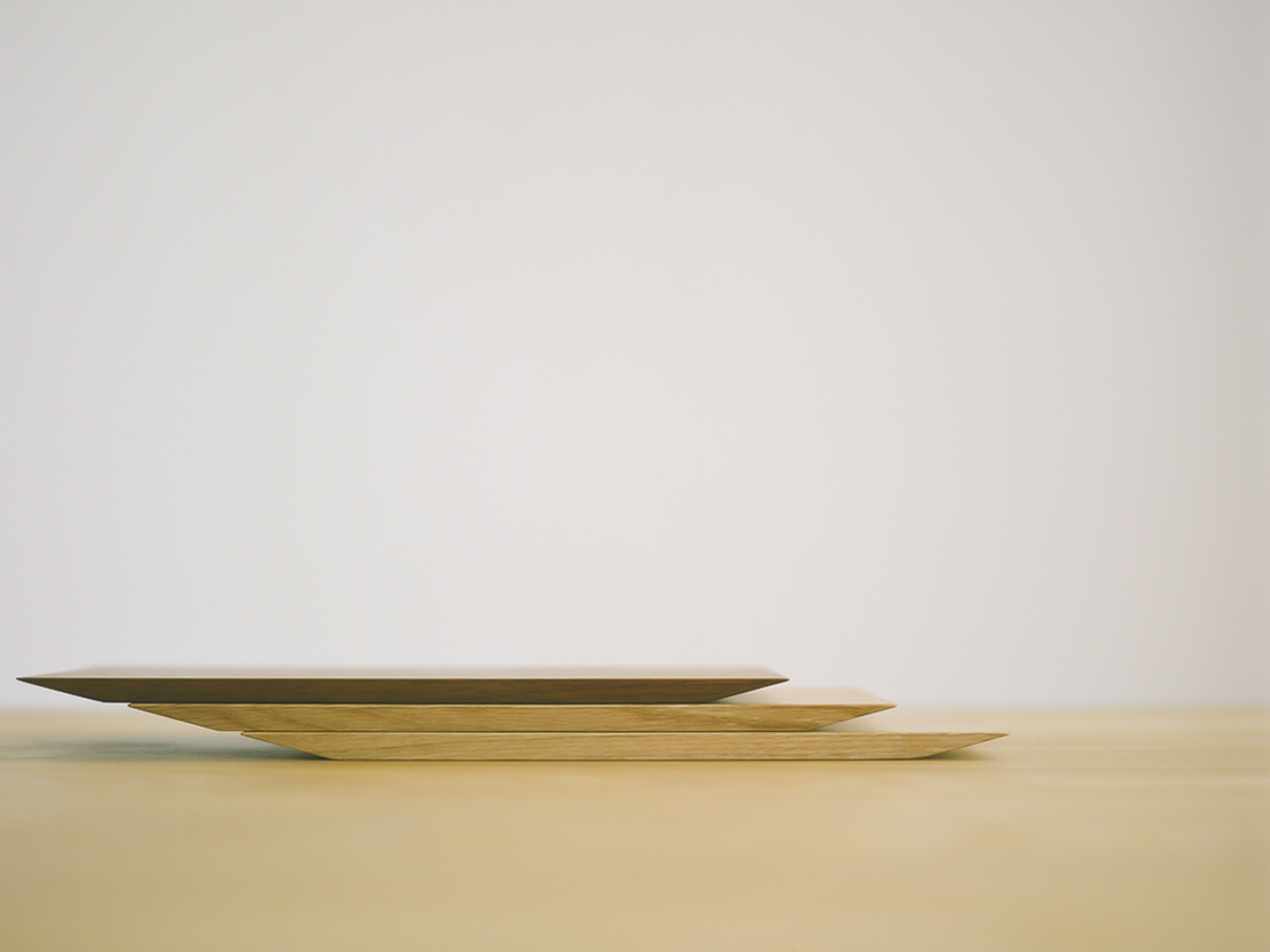 FREE TRAY フリートレー 木の皿 コースター
