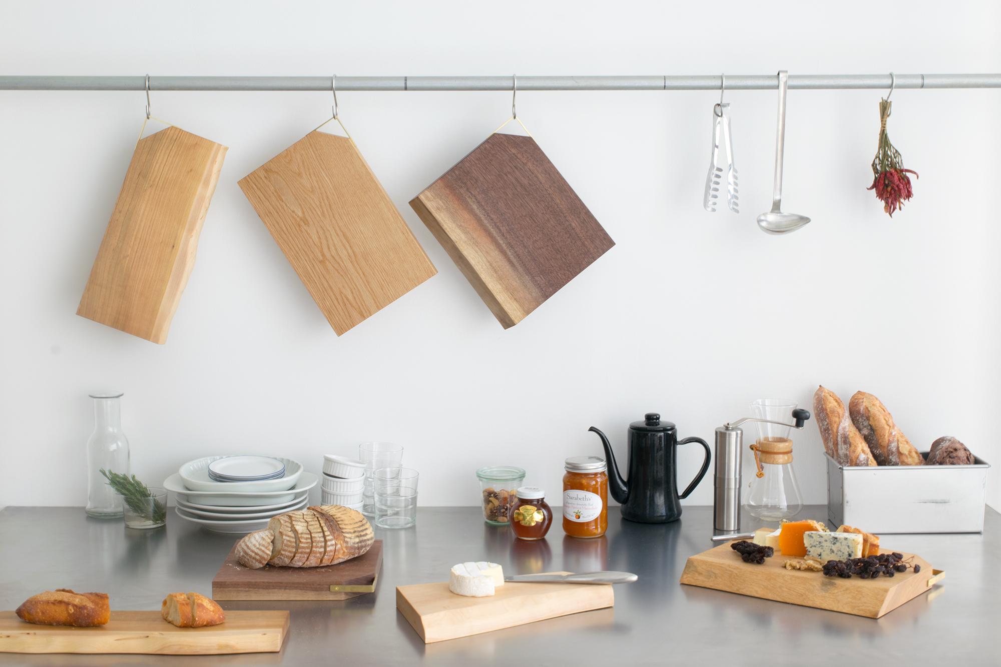kittaki cutting board キッチンでの使用イメージ
