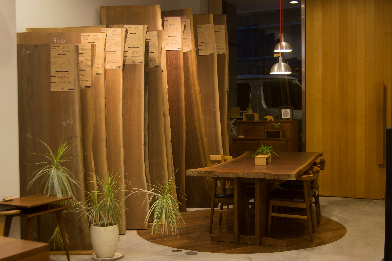 ウォールナット一枚板 無垢天板フェア woodworkgoodlifeフェア 開催中