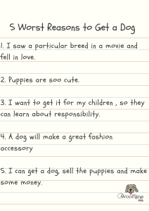 5 Worst Reasons to Get a Dog