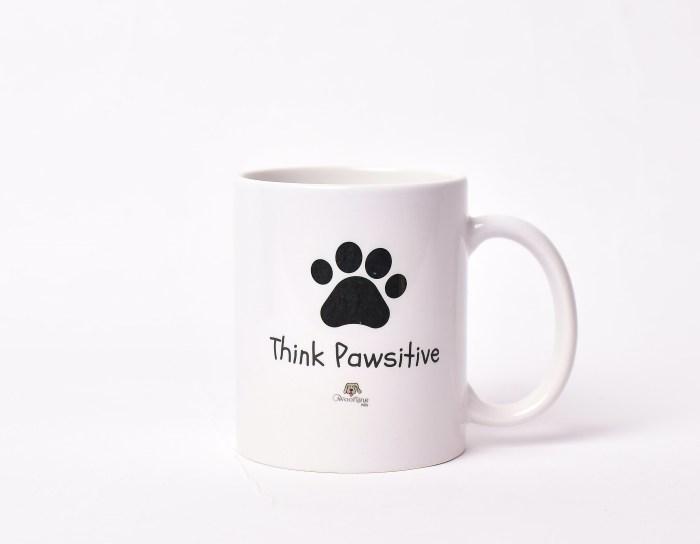 Think Pawsitive Mug