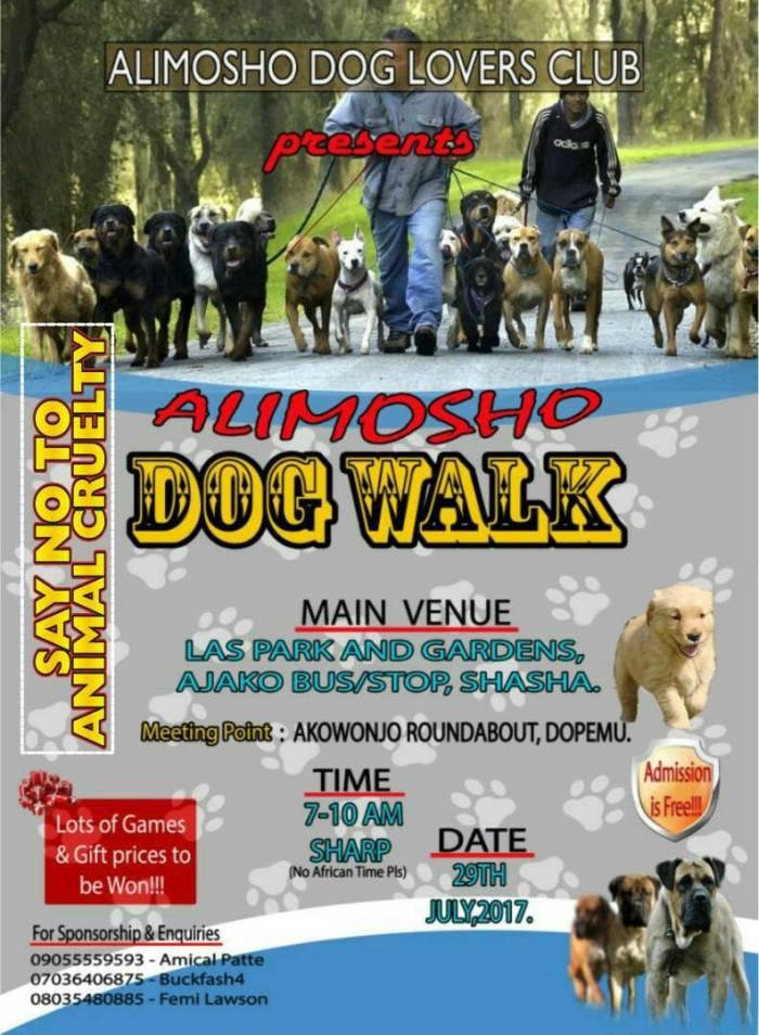 Alimosho Dog Walk