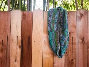 Knitting - Lan Su Garden cowl-2
