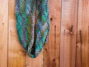 Knitting - Lan Su Garden cowl-5