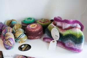 Little Lam and Ewe - yarn