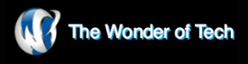The Wonder of Tech logo was added to my portfolio in March 2016