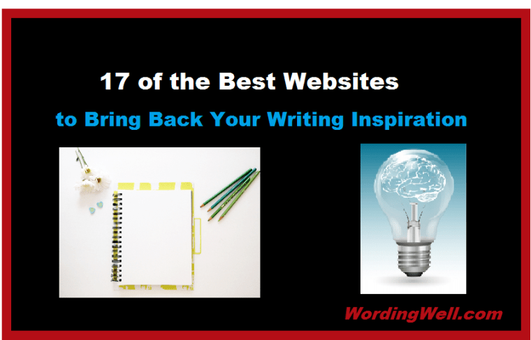 17 of the Best Websites to Bring Back Your Writing Inspiration