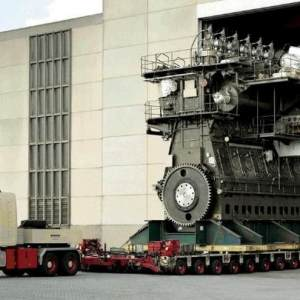 World's most powerful Diesel Engine
