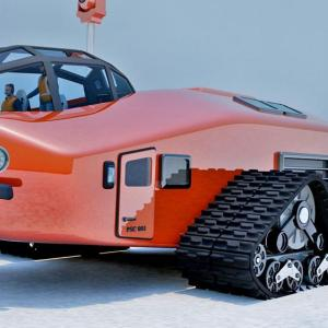 Polar Snow Crawler 1930s inspired