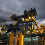 New 4D Batman Roller Coaster