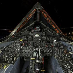The amazing SR-71 Blackbird Cockpit