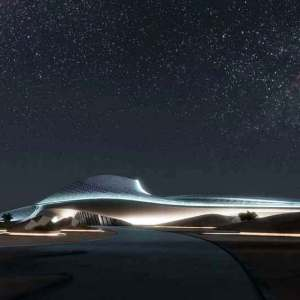 Bee'ah Headquarters by Zaha Hadid - fly-through