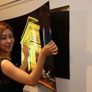 LG wallpaper TV under 1mm thick