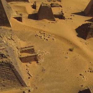 Stunning Drone Footage of Nubian Pyramids