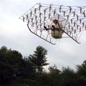 First flight of the Swarm manned multirotor Super Drone
