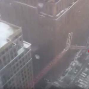 Horrifying NYC Crane Collapse Caught on video