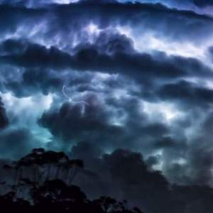 Most frightening Thunderstorm timelapse