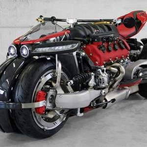 The enormous Lazareth LM 847 Motorcycle