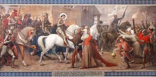 Entrée de Jeanne dans Orléans