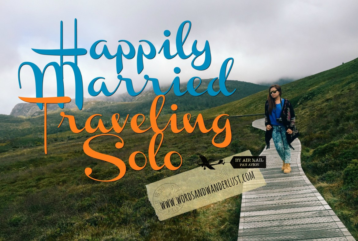 Happily Married Traveling Solo
