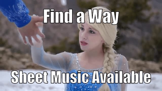 Find a Way Sheet Music