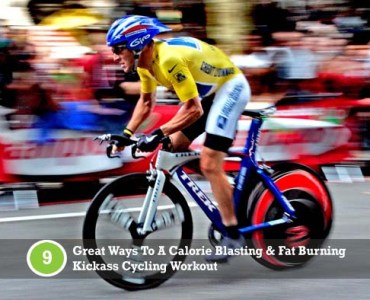 cycling tips and training on a calorie burning bike workout