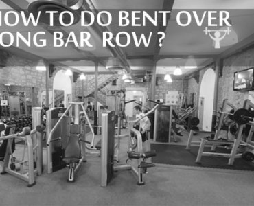 BENT OVER LONG BAR