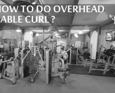 How to do Overhead Cable Curl???
