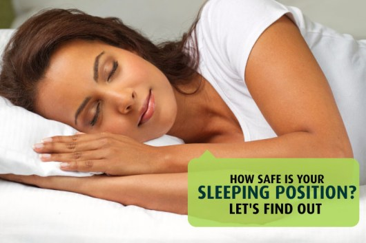 how safe is your sleeping position