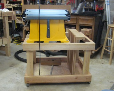My old table saw cart