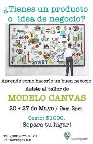 Modelo canvas workspot monclova