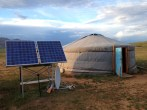Ger Life with Solar Power