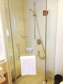 Crowne Plaza Dandong Shower