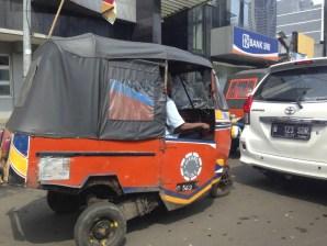 Jakarta Tuk Tuk may get you there.
