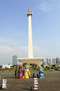 Monas and Traditional Costumes