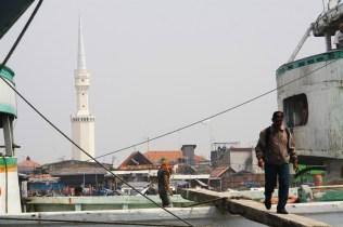 View of the old city from Sunda Kelapa